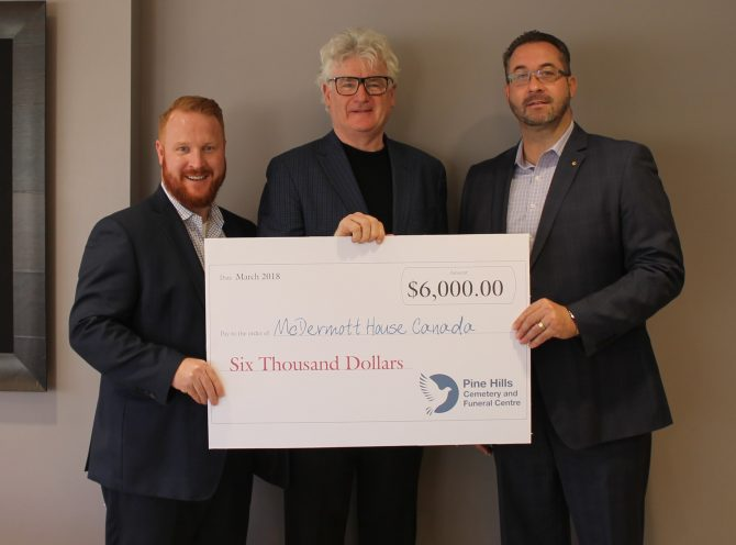 Mount Pleasant Group Supports McDermott House Canada